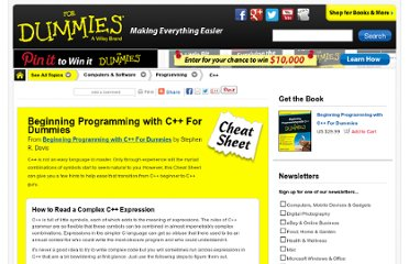 http://www.dummies.com/how-to/content/beginning-programming-with-c-for-dummies-cheat-she.html
