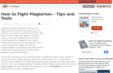 http://www.1stwebdesigner.com/design/fight-plagiarism-tips-tools/