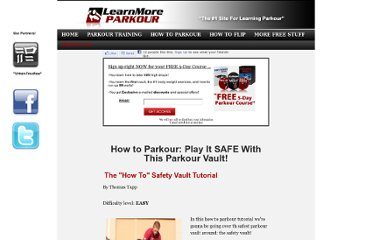 http://learnmoreparkour.com/how-to-parkour-safety-vault.html