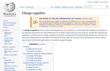 http://fr.wikipedia.org/wiki/Charge_cognitive