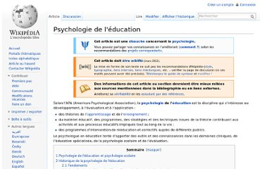 http://fr.wikipedia.org/wiki/Psychologie_de_l%27%C3%A9ducation