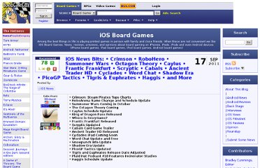 http://boardgamegeek.com/blogpost/4549/ios-news-bits-crimson-robohero-summoner-wars-o
