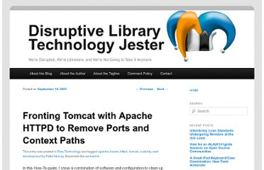 http://dltj.org/article/apache-httpd-and-tomcat/