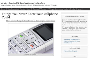 http://www.jumtree.co.uk/things-you-never-knew-your-cellphone-could/