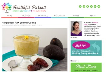 http://www.healthfulpursuit.com/2011/09/4-ingredient-raw-lemon-pudding/