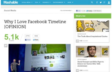 http://mashable.com/2011/09/25/i-love-the-facebook-timeline/