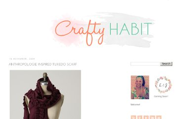 http://www.craftyhabit.com/2009/11/anthropologie-tuxedo-inspired-scarf.html