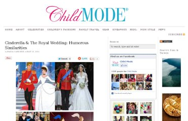 http://www.childmode.com/2011/05/13/cinderella-the-royal-wedding-humorous-similarities/