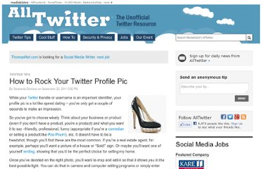 http://www.mediabistro.com/alltwitter/how-to-rock-your-twitter-profile-pic_b14172