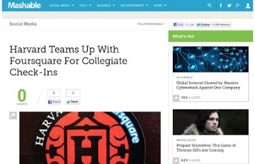 http://mashable.com/2010/01/12/harvard-foursquare/