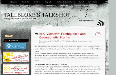 http://tallbloke.wordpress.com/2011/03/17/m-a-vukcevic-earthquakes-and-geomagnetic-storms/