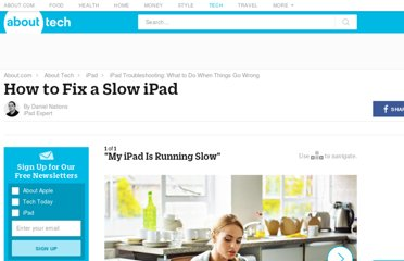 http://ipad.about.com/od/iPad_Troubleshooting/ss/How-To-Fix-A-Slow-iPad.htm