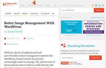 http://wp.smashingmagazine.com/2011/05/26/better-image-management-practices-with-wordpress/