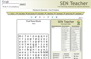http://www.senteacher.org/Worksheet/1/WordSearch.xhtml