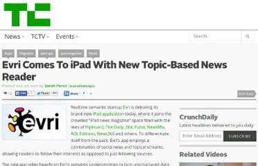 http://techcrunch.com/2011/09/26/evri-comes-to-ipad-with-new-topic-based-news-reader/