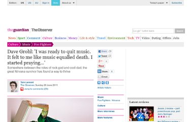http://www.guardian.co.uk/music/2011/jun/27/dave-grohl-foo-fighters-nirvana-cobain