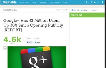 http://mashable.com/2011/09/26/google-43-million-users/