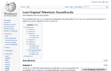 http://en.wikipedia.org/wiki/Lost_Original_Television_Soundtracks