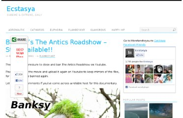 http://ecstasya.com/flamboyant/banksys-the-antics-roadshow-still-available/