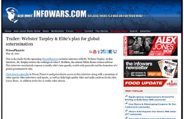 http://www.infowars.com/trailer-elites-plan-for-global-extermination-w-webster-tarpley/