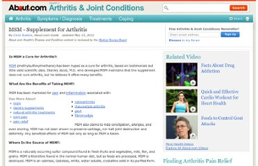 http://arthritis.about.com/od/msmdietarysupplement1/p/msmfastfacts.htm