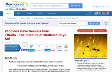 http://articles.mercola.com/sites/articles/archive/2011/09/27/vaccines-are-dangerous-says-the-government.aspx