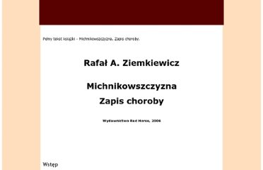 http://sites.google.com/site/michnikowszczyzna/home