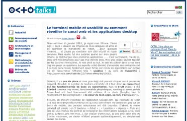 http://blog.octo.com/le-terminal-mobile-et-usabilite-ou-comment-reveiller-le-canal-web-et-les-applications-desktop/