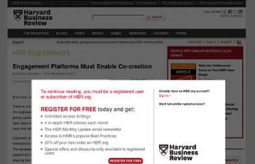 http://blogs.hbr.org/cs/2011/03/engagement_platforms_must.html