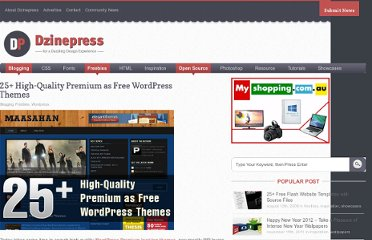 http://www.dzinepress.com/2010/01/25-high-quality-premium-as-free-wordpress-themes/