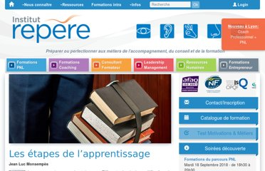 http://www.institut-repere.com/PEDAGOGIE-ET-FORMATION/institut-repere-ressources-documentaires-les-etapes-de-lapprentissage.html