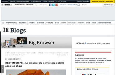 http://bigbrowser.blog.lemonde.fr/2011/09/27/rest-in-chips-le-fondateur-du-dorito-sera-enterre-sous-les-chips/