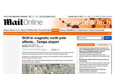 http://www.dailymail.co.uk/sciencetech/article-1344899/Shift-magnetic-north-pole-affects--Tampa-airport.html