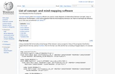 http://en.wikipedia.org/wiki/List_of_concept-_and_mind-mapping_software#Free_software