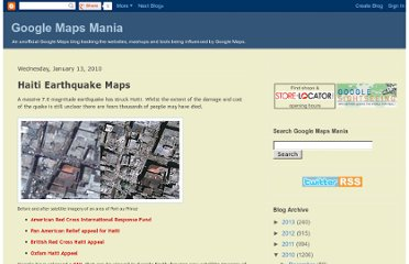 http://googlemapsmania.blogspot.com/2010/01/haiti-earthquake-maps.html