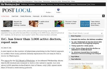 http://www.washingtonpost.com/national/health-science/dc-has-fewer-than-3000-active-doctors-report-says/2011/09/26/gIQAGEZe2K_story.html