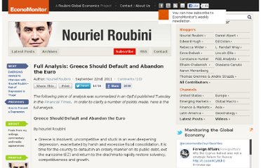 http://www.economonitor.com/nouriel/2011/09/22/full-analysis-greece-should-default-and-abandon-the-euro/