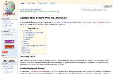 http://www.seomastering.com/wiki/Educational_programming_language
