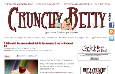 http://www.crunchybetty.com/a-millionish-uncommon-and-not-so-uncommon-uses-for-coconut-oil