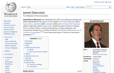 http://en.wikipedia.org/wiki/Jared_Diamond
