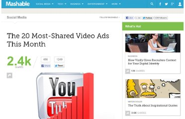 http://mashable.com/2011/09/01/video-ads-august-2011/#btViXvIDsi0