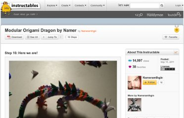 http://www.instructables.com/id/Modular-Origami-Dragon-by-Namer/step16/here-we-are/