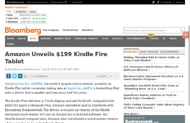 http://www.bloomberg.com/news/2011-09-28/amazon-unveils-199-kindle-fire-tablet.html