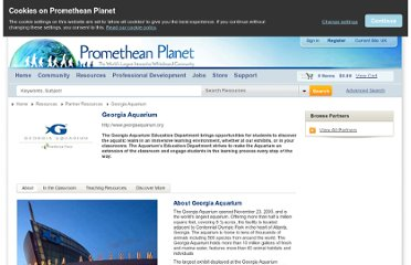 http://www.prometheanplanet.com/en-gb/resources/partner-resources/georgia-aquarium/