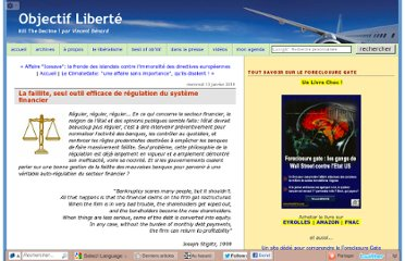 http://www.objectifliberte.fr/2010/01/la-faillite-seule-regulation-efficace-de-la-finance.html