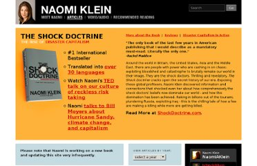 http://www.naomiklein.org/articles/2010/01/haiti-disaster-capitalism-alert-stop-them-they-shock-again