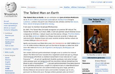 http://fr.wikipedia.org/wiki/The_Tallest_Man_on_Earth