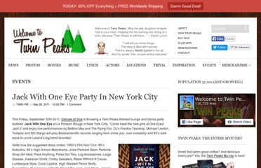 http://welcometotwinpeaks.com/events/jack-with-one-eye-party-nyc/
