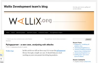 http://www.wallix.org/2011/09/27/pylogsparser-a-use-case-analysing-ssh-attacks/