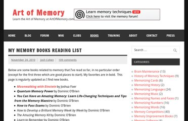 http://mnemotechnics.org/my-memory-books-reading-list-34.html